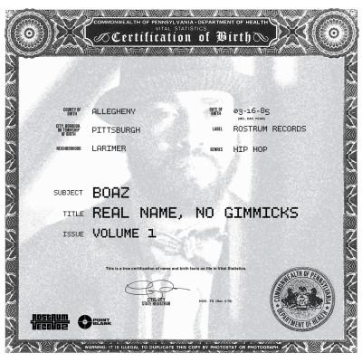 Boaz Real Name Vol 1